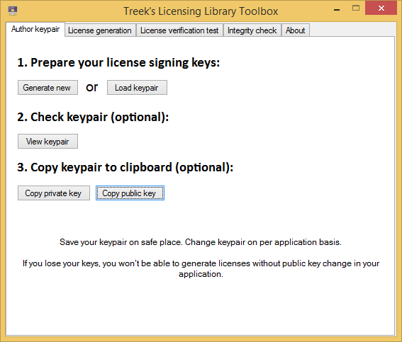 Click to view Treeks Licensing Library screenshots