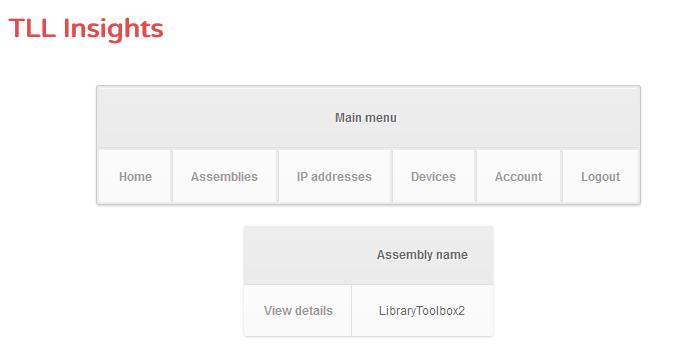 Assembly list